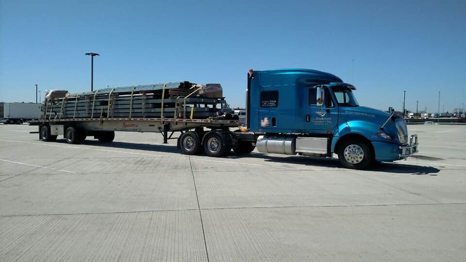 semi hauling cargo